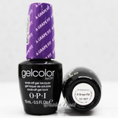 OPI GelColor A GRAPE FIT! GC B87 15ml 0.5oz UV LED Gel Polish
