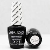 OPI GelColor ALPINE SNOW GC L00 15ml 0.5oz UV LED Gel Polish White Tip French Manicure