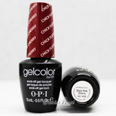 OPI GelColor CHICK FLICK CHERRY GC H02 15ml 0.5oz UV LED Gel Polish