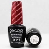 OPI GelColor COLOR TO DINER FOR GC T25 15ml 0.5oz UV LED Gel Polish