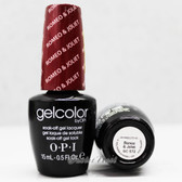 OPI GelColor ROMEO & JOLIET  GC S72 15ml 0.5oz Soak Off UV LED Gel Nail Polish #GCS72