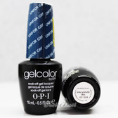 OPI GelColor UNFOR-GRETA-BLY BLUE  GC G24 15ml 0.5oz Soak Off UV LED Gel Nail Polish #GCG24