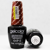 OPI GelColor A-PIERS TO BE TAN  GC F53 15ml 0.5oz Soak Off UV LED Gel Nail Polish #GCF53