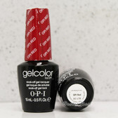 OPI GelColor OPI RED  GC L72 15ml 0.5oz Soak Off UV LED Gel Nail Polish #GCL72