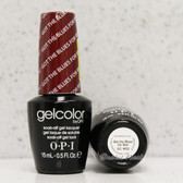 OPI GelColor GOT THE BLUES FOR RED  GC W52 15ml 0.5oz Soak Off UV LED Gel Nail Polish #GCW52