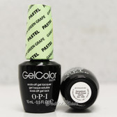 OPI GelColor PASTEL Gargantuan Green Grape  GC 103 15ml 0.5oz Soak Off UV LED Gel Nail Polish #GC103
