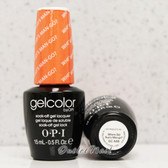 OPI GelColor WHERE DID SUZI'S MAN-GO?  GC A66 15ml 0.5oz Brazil Collection UV LED Gel Nail Polish #GCA66
