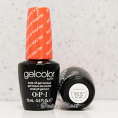 OPI GelColor TOUCAN DO IT IF YOU TRY  GC A67 15ml 0.5oz Brazil Collection UV LED Gel Nail Polish #GCA67