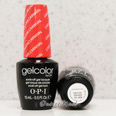 OPI GelColor LIVE. LOVE. CARNAVAL  GC A69 15ml 0.5oz Brazil Collection UV LED Gel Nail Polish #GCA69