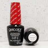 OPI GelColor RED HOT RIO  GC A70 15ml 0.5oz Brazil Collection UV LED Gel Nail Polish #GCA70