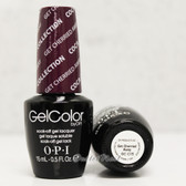 OPI GelColor GET CHERRIED AWAY  GC C15 15ml 0.5oz Coca Cola Collection UV LED Gel Nail Polish #GCC15