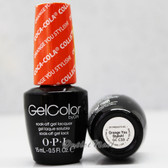 OPI GelColor ORANGE YOU STYLISH!  GC C33 15ml 0.5oz Coca Cola Collection UV LED Gel Nail Polish #GCC33