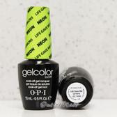 OPI GelColor LIFE GAVE ME LEMONS GC N33 15ml 0.5oz Neon Collection UV LED Gel Nail Polish #GCN33
