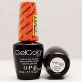 OPI GelColor IS MAI TAI CROOKED?  GC H68 15ml 0.5oz Hawaii Collection UV LED Gel Nail Polish #GCH68