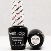 OPI GelColor ON PINKS & NEEDLES  GC A71 15ml 0.5oz Brights Collection UV LED Gel Nail Polish #GCA71