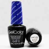 OPI GelColor MY CAR HAS NAVY-GATION  GC A76 15ml 0.5oz Brights Collection UV LED Gel Nail Polish #GCA76
