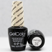 OPI GelColor ACT YOUR BEIGE!  GC T66 15ml 0.5oz SoftShades Collection UV LED Gel Nail Polish #GCT66