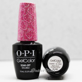 OPI GelColor STARRY-EYED FOR DEAR DANIEL  GC H86 15ml 0.5oz Hello Kitty Collection UV LED Gel Nail Polish #GCH86