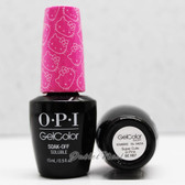 OPI GelColor SUPER CUTE IN PINK  GC H87 15ml 0.5oz Hello Kitty Collection UV LED Gel Nail Polish #GCH87