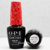 OPI GelColor 5 APPLES TALL  GC H89 15ml 0.5oz Hello Kitty Collection UV LED Gel Nail Polish #GCH89