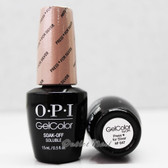 OPI GelColor PRESS * FOR SILVER  HP G47 15ml 0.5oz Starlight Holiday Collection UV LED Gel Nail Polish #HPG47