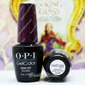 OPI GelColor WHAT'S THE HATTER WITH YOU?  GC BA3 15ml 0.5oz Alice Collection UV LED Gel Nail Polish #GCBA3