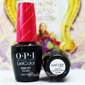 OPI GelColor MAD FOR MADNESS SAKE  GC BA8 15ml 0.5oz Alice Collection UV LED Gel Nail Polish #GCBA8