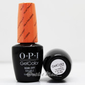 OPI GelColor I'M GETTING A TAN-GERINE  GC R68 15ml 0.5oz Retro Summer Collection UV LED Gel Nail Polish #GCR68