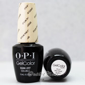 OPI GelColor IT'S IN THE CLOUD  GC T71 15ml 0.5oz Soft Shades Pastel Collection UV LED Gel Nail Polish #GCT71