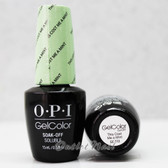 OPI GelColor THIS COST ME A MINT  GC T72 15ml 0.5oz Soft Shades Pastel Collection UV LED Gel Nail Polish #GCT72