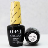 OPI GelColor ONE CHIC CHICK  GC T73 15ml 0.5oz Soft Shades Pastel Collection UV LED Gel Nail Polish #GCT73