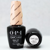 OPI GelColor STOP IT I'M BLUSHING!  GC T74 15ml 0.5oz Soft Shades Pastel Collection UV LED Gel Nail Polish #GCT74