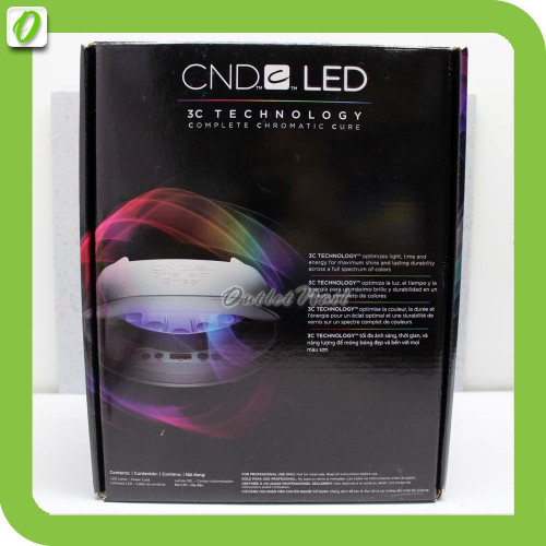 CND LED LIGHT Lamp Nail Dryer 3C Tech Cure CND Shellac / Brisa / Brisa Lite  FREE UK AU EU NZ Plug * 110V 220V