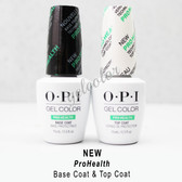 OPI GelColor PRO HEALTH Soak Off Gel Kit > ProHealth BASE +TOP COAT 0.5oz DUO PACK SET OF 2 GC 020 040