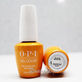 OPI GelColor SUN, SEA AND SAND IN MY PANTS GC L23 15ml 0.5oz LISBON Spring Summer 2018 Collection UV LED Gel Nail Polish #GCL23