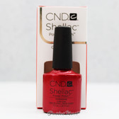 CND Shellac UV Gel Polish - HOLLYWOOD 40521 7.3ml 0.25oz Red Color Basic Collection