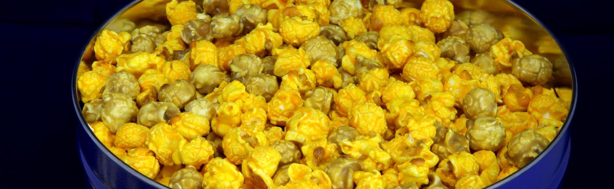 Argires Gourmet Popcorns Tins & Bulk