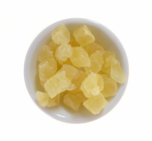 Dried Pineapple chunks (tidbits). Sold by the lb.