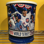 Chicago Cubs 1 Gallon 2016 Authentic World Series Popcorn Tin (View 1)