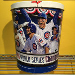 Chicago Cubs 3 Gallon Authentic World Series Popcorn Tin (View 1)