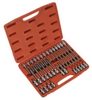 "Sealey AK2194 TRX-Star Socket Bit Set 32pc 1/2""Sq Drive"