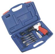 Sealey GSA12 Air Hammer Kit Medium Stroke