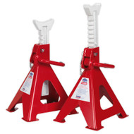 Sealey VS2006 Axle Stands (Pair) 6tonne Capacity per Stand Ratchet Type