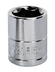 """Siegen S0582 WallDrive¨ Socket 15mm 3/8""""Sq Drive"""