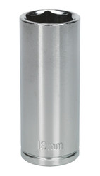 "Siegen S0597 WallDrive¨ Socket 19mm Deep 3/8""Sq Drive"