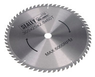 Sealey SMS12B60 Compound Mitre Saw Blade 305 x 2.8mm 25.4mm Bore 60tpu