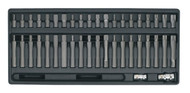 Sealey TBT10 Tool Tray with TRX-Star/Hex/Spline Bit Set 42pc