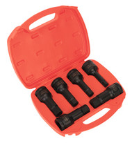 "Sealey AK5586 Impact Hex Socket Bit Set 6pc 3/4""Sq Drive"