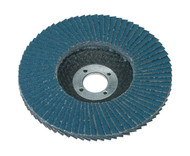 Sealey FD10040 Flap Disc Zirconium ¯100mm 16mm Bore 40Grit