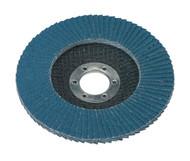 Sealey FD11540 Flap Disc Zirconium ¯115mm 22mm Bore 40Grit
